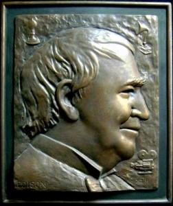 Thomas Edison Plaque