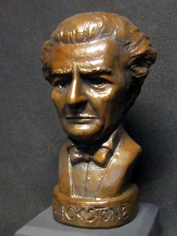 Blackstone sculpted bust