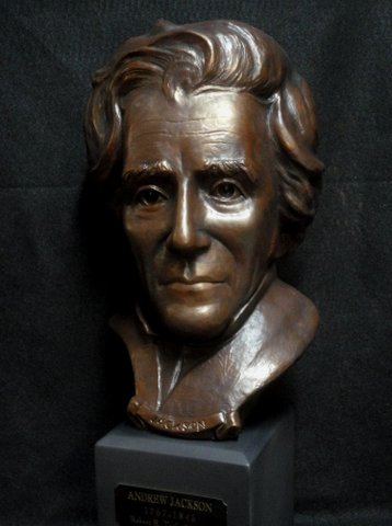 Andrew Jackson - Commisioned by The Andrew Jackson Society, Salisbury, NC