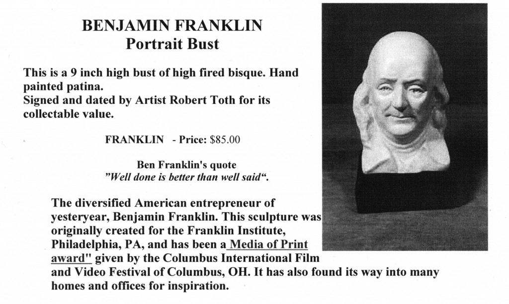 ben franklin the ideal american Benjamin franklin founded the ideal of the american polymath he was a statesman through and through, performing roles as theorist, diplomat, and governor he was an inventor and famously dabbled in the nascent science of electricity but the portrait of ben franklin the publisher is frequently.