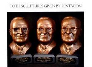 Citizens Patriot Award given at the Pentagon